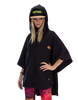 Picture Organic Clothing Panama Poncho Hoodie, Black front