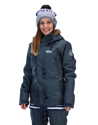 Picture Organic Clothing Ladies Ski Snowboarding Jacket Cooler 2 Demin 1