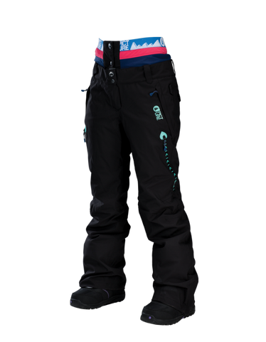Picture Organic Clothing Ladies Ski Snowboarding Pants Tech Ticket Black