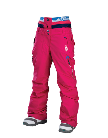 Picture Organic Clothing Ladies Ski Snowboarding Pants Tech Ticket Pink