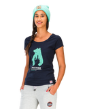 Picture Organic Clothing Ladies' Totem T-Shirt, dark blue front