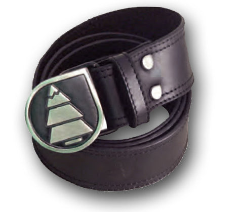 Picture Organic Clothing Leather Belt Black