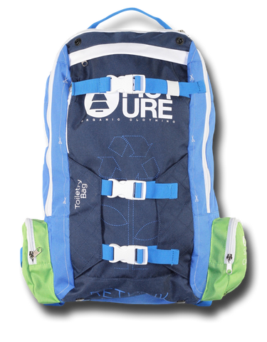 Picture Organic Clothing, Blue / Green Re-Think Backpack