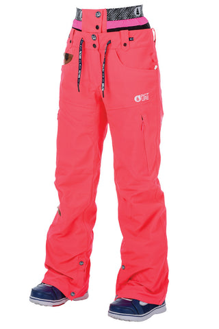 Picture_Organic_Clothing_Womens_Ski_Snowboard_pants_SLANY-2_Neon-Pink_front