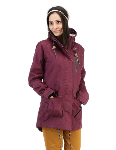 Picture Organic Clothing Summer 2015 , Women's Jacket, Nordic, Aubergine
