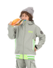 Picture Organic Clothing Winter, Kid's Snowboard/Ski Jacket, Park Avenue Jacket, Grey 1