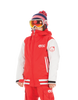 Picture Organic Clothing Winter, Kid's Snowboard/Ski Jacket, Park Avenue Jacket, Red