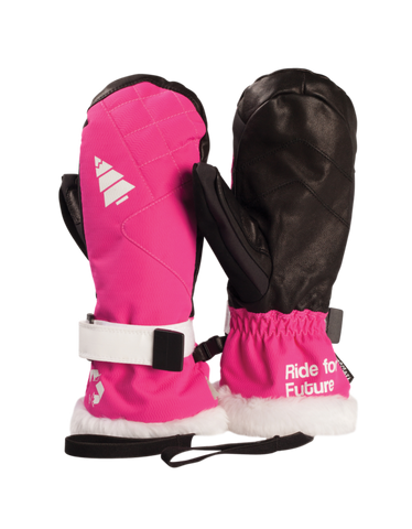 Picture Organic Clothing Winter, Women's Snowboard/Ski Gloves, Jam Gloves, Pink