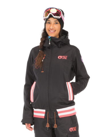 Picture Organic Clothing Women's Ski Snowboard Dallas Avenue Jacket Black 1