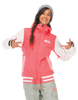 Picture Organic Clothing Winter, Women's Snowboard/Ski Jacket, Dallas Avenue Jacket, Fluo Pink / White 1