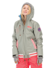 Picture Organic Clothing Women's Ski Snowboard Dallas Avenue Jacket Grey Melange 1