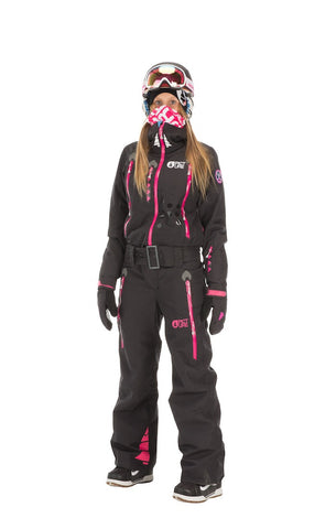 Picture Organic Clothing Winter, Women's Snowboard Ski Suit, Appola Space Suit Black