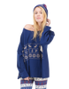 Picture Organic Clothing Winter, Women's Snowboard/Ski Casual Wear, Afternoon Top, Dark Blue