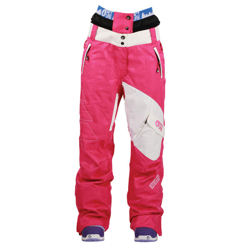 Picture Organic Clothing Pulp Pants Pink, Women's Snowboarding/Ski Pants 1