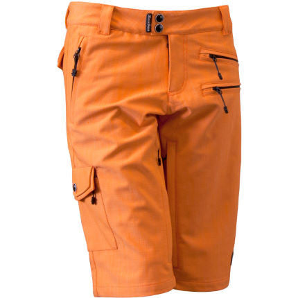 Race Face Khyber Shorts, Orange, Womens MTB Shorts Front