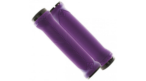 Race Face Love Handle Purple Silicone Grips