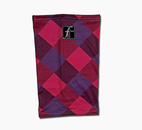 f-riders Neck Warmer / Snood red purple pink
