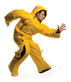 Selk Bag Sleeping Bag Suit Yellow_1