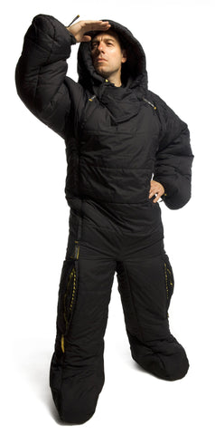 Selk Bag Sleeping Bag Suit Black_1