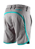 Yeti Women's MTB Shorts, Caddoa Shorts, Grey and Turquiose