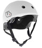 Urge Activist Helmet, Sustainably Constructed Bike Helmet, White