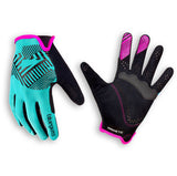 Bluegrass MTB BMX Gloves Magnete Rock Turquoise Blue Pink Black