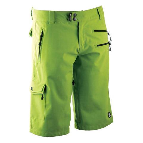 Race Face Khyber Shorts, Lime, Womens MTB Shorts Front