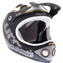 Urge Down-O-Matic Brat, Full Face Bike Helmet, Matt Black