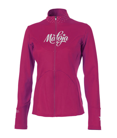 Maloja Womens Winter Long-sleeve cycling jacket corvallisM fruit tea front