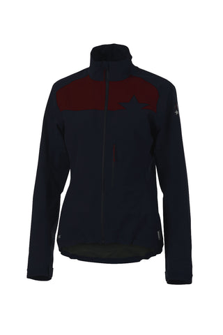 Maloja Women's BetsyM. Snow High Tech Jacket Nightfall Front
