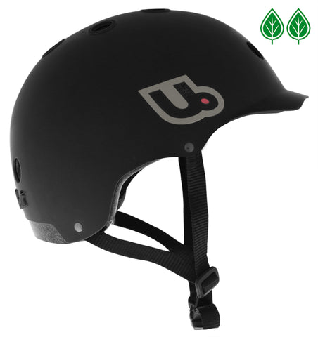Urge Activist Helmet, Sustainably Constructed Bike Helmet, Black