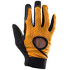 Race Face Khyber Glove, Black / Orange, Womens MTB Glove front