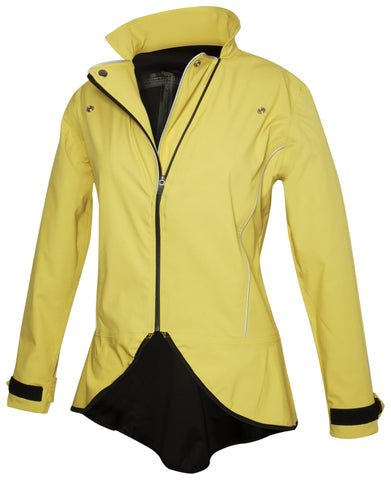 Ana Nichoola Hello Yello Commuter Jacket, Yellow, Womens Cycling Jacket