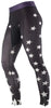 Ana Nichoola Women's Star Cycling Bike MTB Tights black with white stars 2