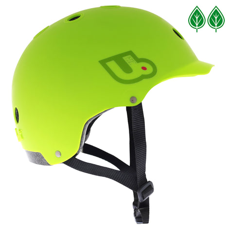 Urge Activist Helmet, Sustainably Constructed Bike Helmet, Green