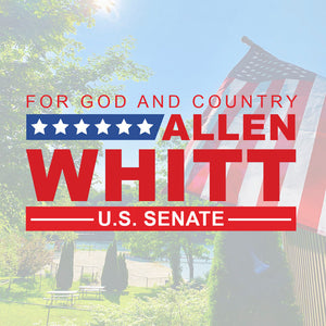 MAKE A DONATION [option1] - Allen Whitt West Virginia Republican Campaign for U.S. Senate