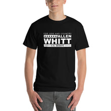 Load image into Gallery viewer, Allen Whitt for U.S. Senate Short Sleeve T-Shirt Black - Allen Whitt West Virginia Republican Campaign for U.S. Senate