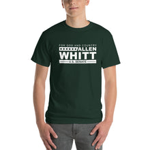 Load image into Gallery viewer, Allen Whitt for U.S. Senate Short Sleeve T-Shirt Forest - Allen Whitt West Virginia Republican Campaign for U.S. Senate