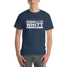 Load image into Gallery viewer, Allen Whitt for U.S. Senate Short Sleeve T-Shirt Blue Dusk - Allen Whitt West Virginia Republican Campaign for U.S. Senate