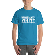 Load image into Gallery viewer, Allen Whitt for U.S. Senate Short Sleeve T-Shirt Sapphire - Allen Whitt West Virginia Republican Campaign for U.S. Senate