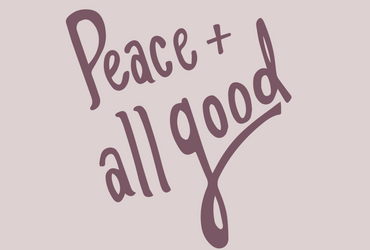 Introducing: Peace and All Good Podcast