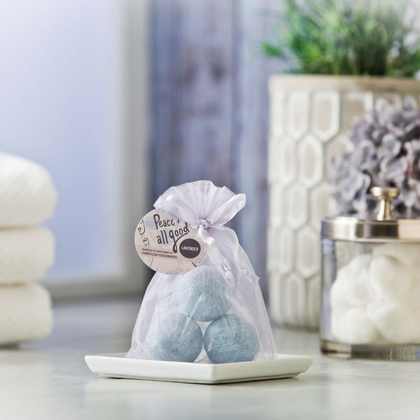 Calming Lavender Bath Bombs