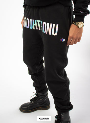 Front Stamped Unicorn Joggers Ft. Champion [VAULT]
