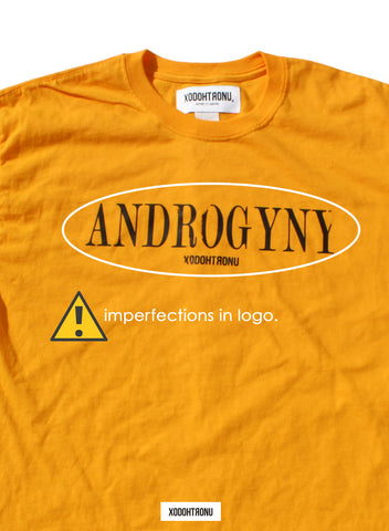 BT- Androgyny Gold Tee [Large] R4