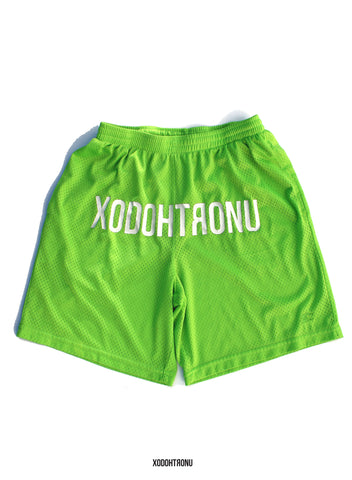BT- Front stamped shorts Lime Ft. Starter [small] R4