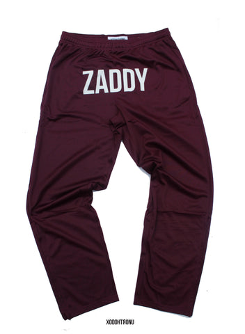 BT- Zaddy Burgandy Track Pant [MED, FITS WOMEN LIKE LARGE!! PLS READ] R5