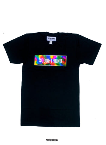 BT- Rainbow Graffiti 3M Tee Noir [ALL SIZES only 11 sold] R11