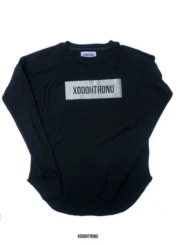 BT- XODOHTRONU Imperfect Shimmer Ninja Tee (with thumb holes in sleeves) [Medium] R11