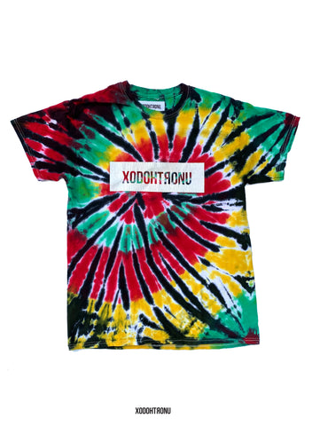 BT- Front Stamped Rasta Tee [Medium] R12