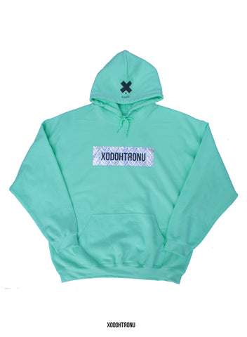 BT- Mint Crystal Front Stamped Hoodie [XL (& all sizes.. Read desc!)] R10